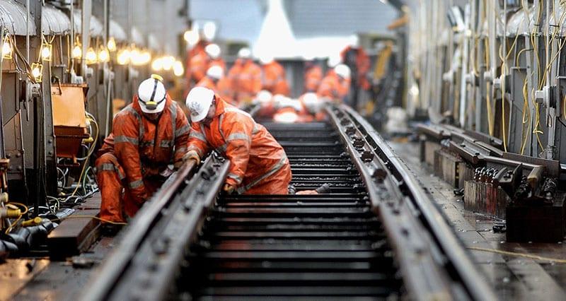 RAIL TRACK MANUFACTURE