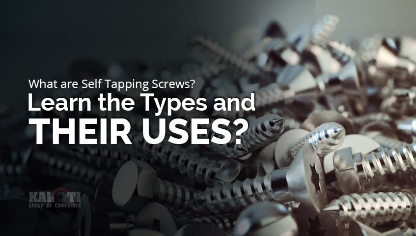 What are Self Tapping Screws Learn the Types and Their Uses featured image